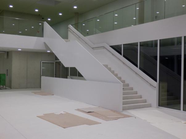 Treppenanlage: Treppe aus Metall in Bad Soden